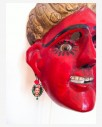 Boucle d'oreille artisanale Frida Kahlo