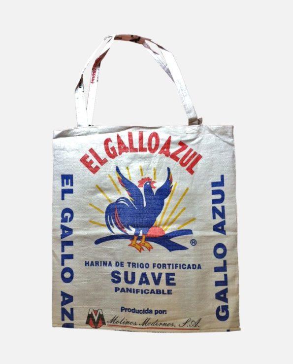 sac cabas écologique recyclé El Gallo Azul