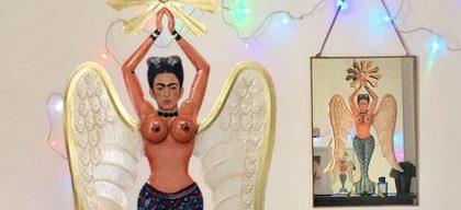 Sirène Frida Kahlo - Boutique ethnique Tienda Esquipulas